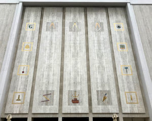 Millard Sheets, mosaic, Scottish Rite, Los Angeles