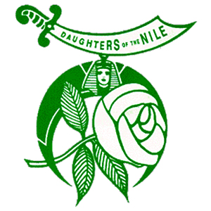 Daughter's of the Nile,logo,freemasonry