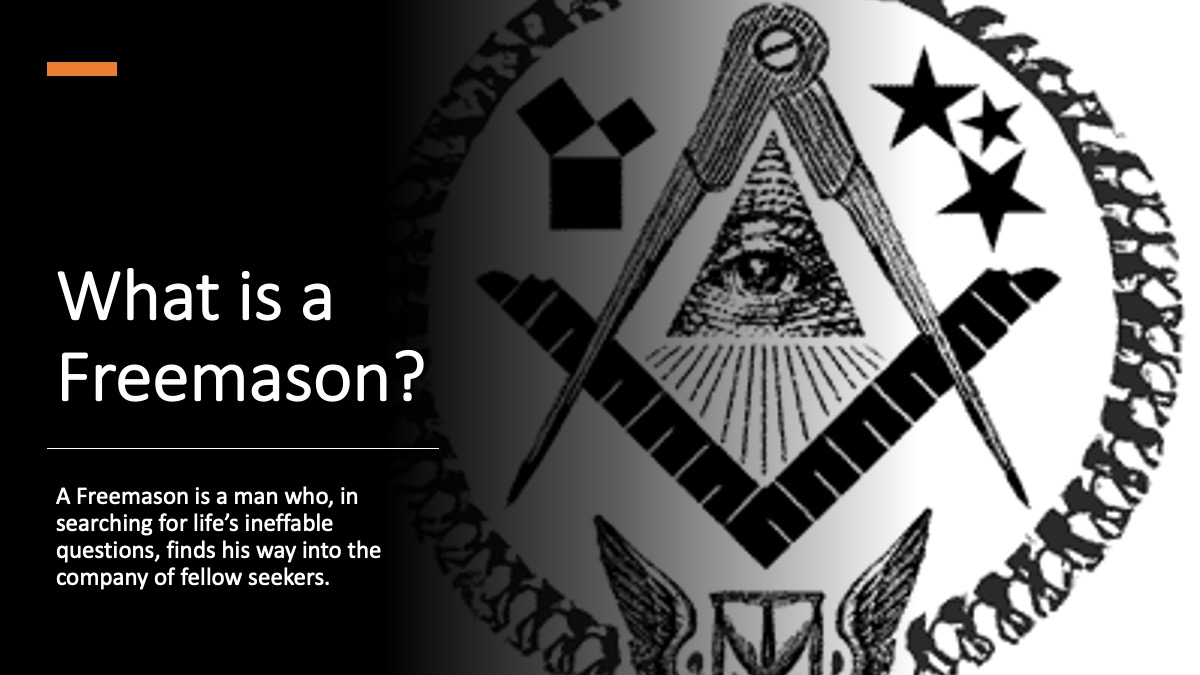 what is a freemason
